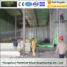 China Galvanized Cold Storage Insulated Roofing Panels Swing Door CE / COC supplier