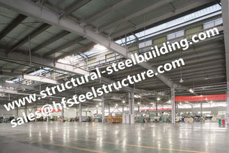 China Steel Frame Buildings For Turn - Key Project  , Q345 Steel Frame Construction Workshop supplier
