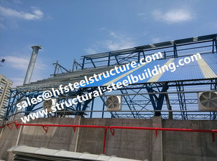 China Fabricated Industrial Steel Buildings Structures Stairs Roofing For Structural Steel Warehouse Construction Project supplier