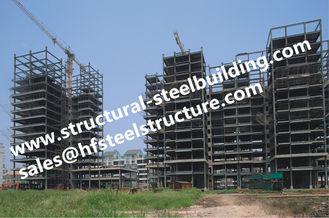 China Architecture Designed Engineered Multi Storey Steel Building For Steel Structure supplier