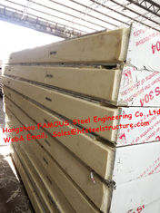 China Classic Cold Room Building Material Sandwich PU Refrigeration Panel For Walk In Cold Storage 1150mm supplier