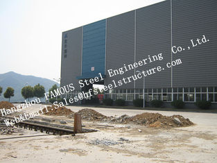 China Column Type Prefabricated Industrial Steel Buildings Welded Craft For Workshop supplier