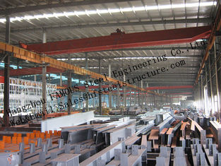 China Prefabricated Industrial Steel Buildings , Single Span Steel Structural Buildings For Warehouse supplier