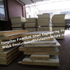 China PU Camlock Sandwich Panels With Effective Width 1150mm , Thickness 50mm supplier