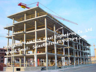 China AS/NZS Grade 250 Grade 300 Welded Beam Customized Design For Steel Building Project supplier