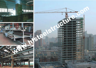 China Arch Style Commercial Steel Buildings,Cold Rolled Steel Lightweight Portal Frame Buildings supplier