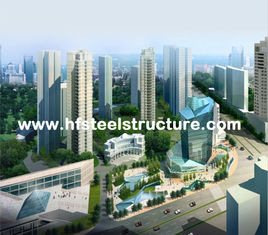 China OEM Industrial Sawing, Grinding, Punching and Waterproof Multi-storey Steel Building supplier
