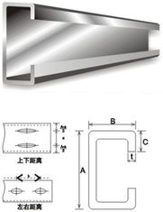 China Building Material Galvanised Steel Purlins supplier