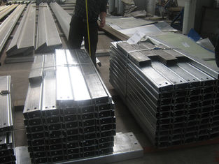 China Steel Frame Building Galvanized Steel Purlins For Support Roof Sheet supplier