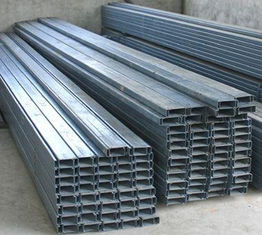 China Structural Steel Building Components And Accessories Galvanised Steel Purlins supplier