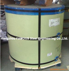 China Silicone Modified Polyester SMP Prepainted Steel Coil For Construction Wall Roof supplier