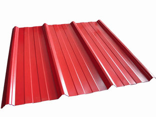China High Precision Metal Roofing Sheets Corrugated Customized Shape supplier