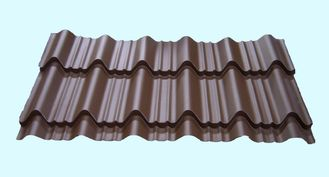 China Light Weight Metal Roofing Sheets Waterproof Glazed Tile Shaped supplier