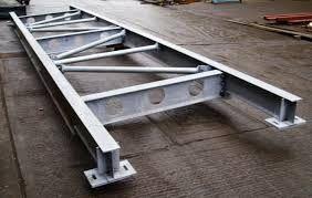 China Q235 Galvanized Structural Steel Fabricators Exquisite Welding Process supplier
