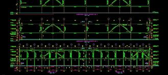 China Professional Steel Engineering Structural Design For Metal Construction Area supplier