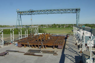 China Precision Welded Structural Steel Fabrications Buildings Specialized Structural Analyze supplier