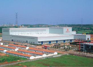 China Bespoken Made Metal Warehouse Industrial Steel Buildings ASD/LRFD Standards supplier