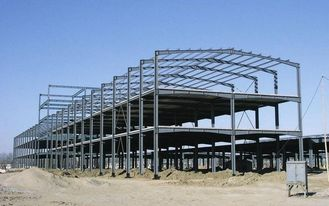 China Multi-pan Customized Painted Structural Steel Fabrications In Deep Dimension supplier