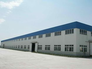 China Strengthen A325 Botls Connected Large Span Prefabricated Structural Steel Industrial Workshop supplier