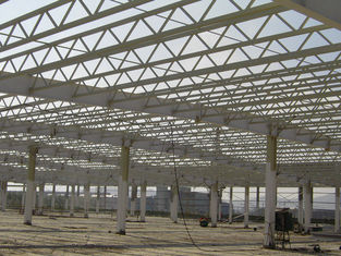 China High Strength Pipe Truss And H Section Beams Structural Steel Industrial Workshop supplier