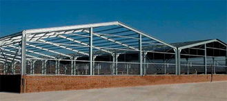 China Welded Or Hot Rolled, Railway Station, Q235 & Q345 Structural Metal Truss Warehouse supplier