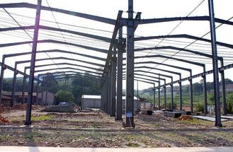 China Mining Storage Steel Framed Buildings , Fast Erection PEB Prefab Steel Buildings supplier