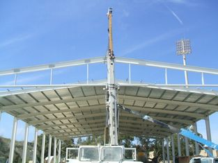 China Galvanized Prefabricated Steel Aircraft Hangar Buildings Fast Erection supplier