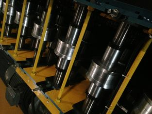 China Wall Panel Roll Forming Machine Glazed Tile Roll Form With Double Layer supplier