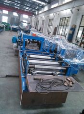 China Steel Structure Cold Roll Forming Machine Automatic Change C Purlin supplier