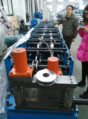 China Wall / Roof Cold Roll Forming Machine ISO Certified , High Pressure supplier