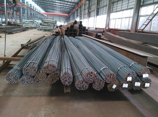 China 8M / 10M Compressive Strength Reinforcing Rebars Steel Building Kits supplier