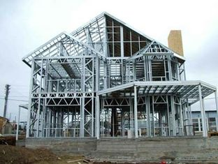 China Light Steel Villa Design And Fabrication Based On Various Standards supplier