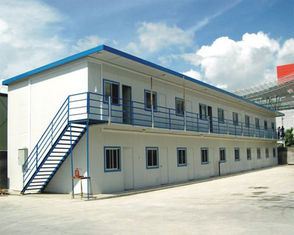 China Easy Construction Sandwich Panel Steel Portable House For Worker Residing supplier