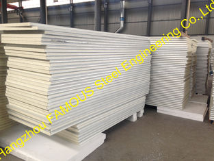 China Metal Roofing Insulated Sandwich Panels Fireproof , 100mm -150mm Foam supplier