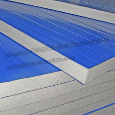 China EPS Polystyrene Insulated Sandwich Panels supplier