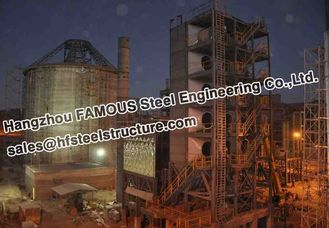China Industrial Structural Steel Fabrications Bolivia Cement Plant supplier