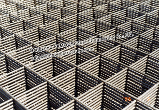 China HRB500E Reinforcing Steel Mesh Foundation Construction 12mm - 30mm supplier
