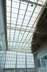 China Custom Steel Fabricate Pipe Metal Truss Buildings Grandstands and Sports Stadiums supplier