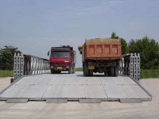 China Structural Steel Bailey Bridge, Modular Steel Bridge, Portable Pre-Fabricated Truss Bridge supplier