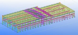 China Pre-engineered Prefabricated Steel Commercial Structural Engineering Designs supplier