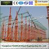 China Multi Gable Span Steel Framed Buildings Prefabricated ASTM Standards factory