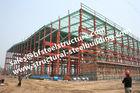 China Pre Painted Industrial Workshop Steel Frame Buildings S235JR Columns Frames factory