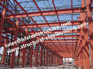 China Metal Roofing Industrial Steel Buildings With Doors And Windows On The Wall factory