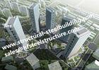 China Low Medium And High Hise Multi-storey Steel building / steel prefab buildings factory
