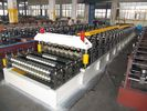 China Double Layer Corrugated Roll Forming Machine 5.5KW By Chain factory