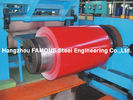 China Silicone Modified Polyester SMP Prepainted Steel Coil For Construction Zinc Al-Zn AZ Prepainted Steel Coil factory
