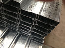 China Q235 Q345 Galvanized C and Z Steel Purlins With 275g/m2 Zinc Coating Thickness factory