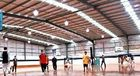 China Precision Prefabricated Steel Structure Pre-Engineered Building / Basketball Court / Prefab House factory