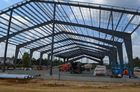 China Single Span Pre-engineering Building Prefabricated Light Steel Structure factory