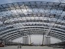 China Pre-engineered Heavy Industrial Workshop Structural Steel Fabrications Steel Pipe Truss factory